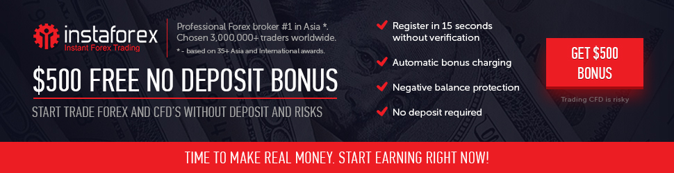 0 No Deposit Bonus (India) – InstaForex